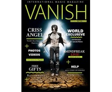 vanish magazine-criss angel