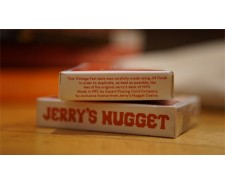 Jerry's Nugget vontage dos rouge