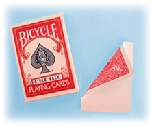 Jeu bicycle face blanche/dos rouge
