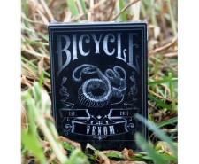 jeu de cartes bicycle venom deck