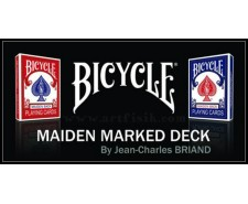 Maiden Marked Deck (rouge)