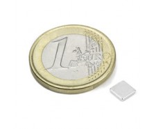 Aimant rect. 10x10x1.2mm