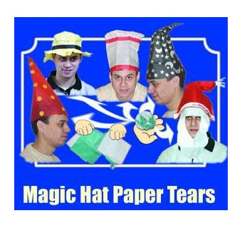 Magic Paper Hat Bonnet