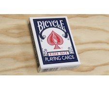 Bicycle poker bleu.