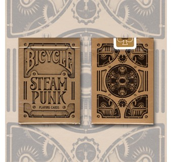 Bicycle Steampunk cuivré